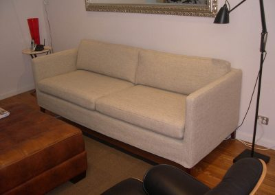Sofa with new loose cover
