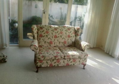 Vintage Couch with Slip Covers